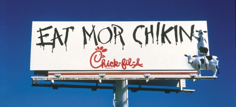 """Chick-fil-A vs. Moe's Original Bar B Que: 'Going Negative'"" by Phillip Stutts"