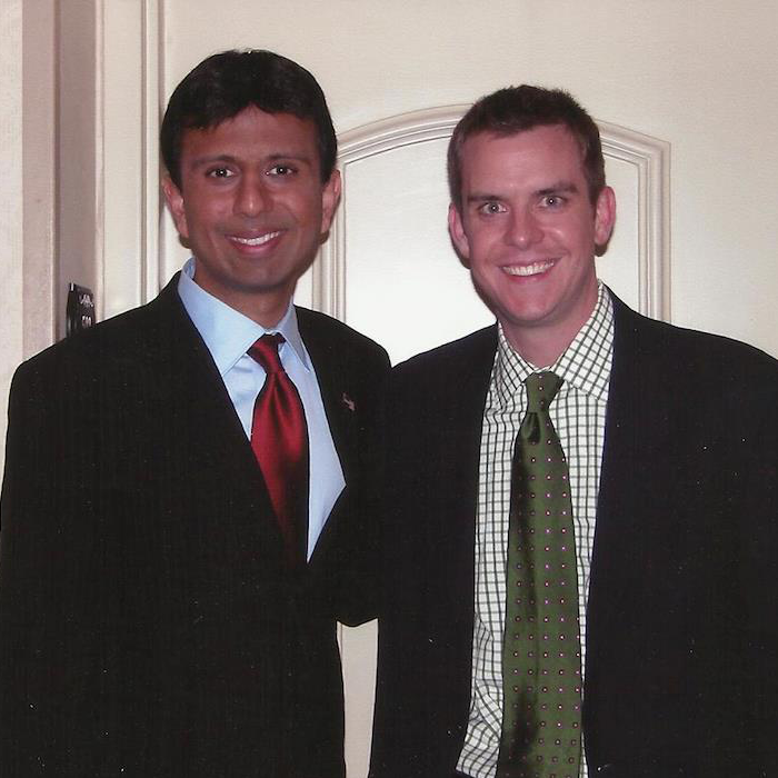 Stutts with former Louisiana Governor Bobby Jindal