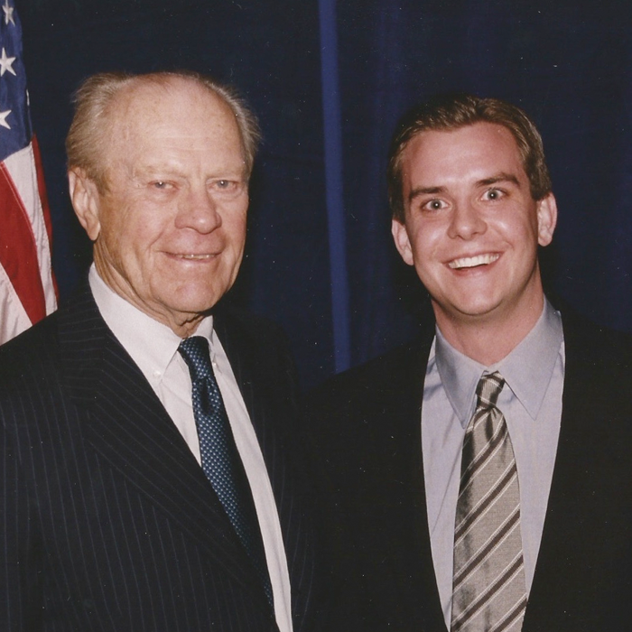 Stutts with former President Gerald R. Ford
