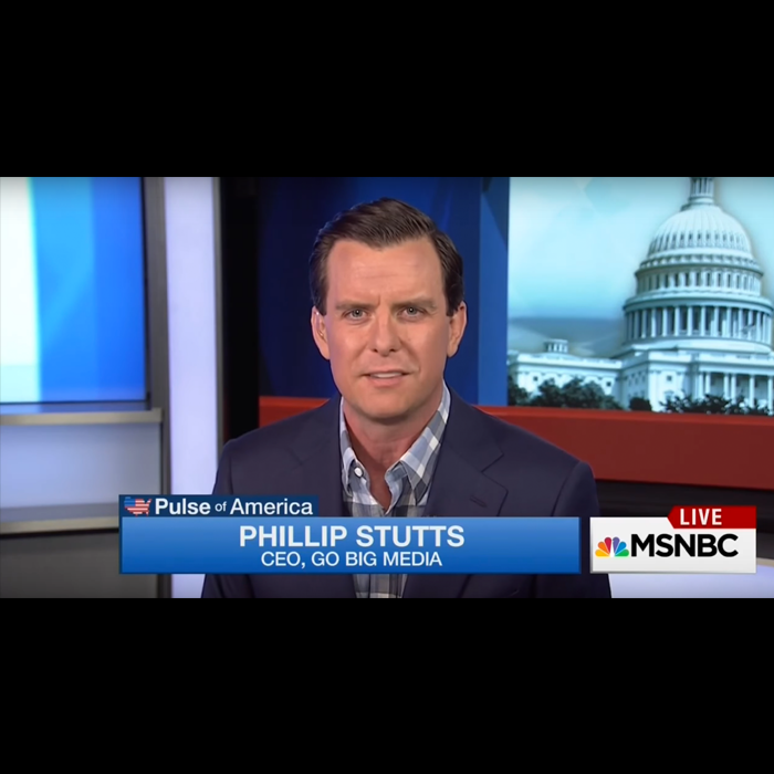 Stutts speaking on MSNBC
