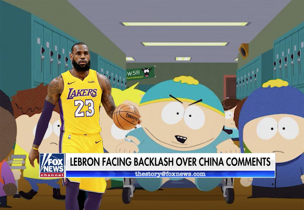 """LeBron vs. South Park — Who Won?"" by Phillip Stutts"